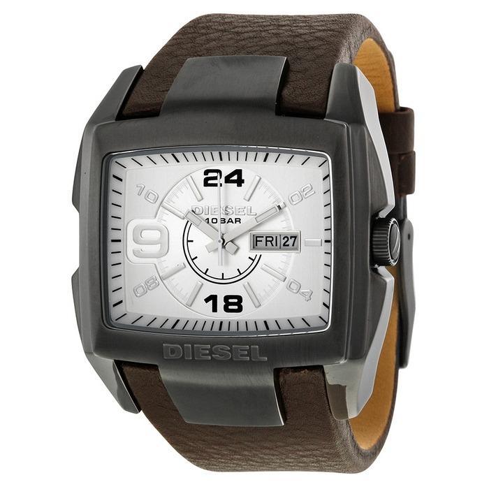 94d1bf8c14b4 Reloj Diesel Para Hombre Dz1216 Bugout Tablero Plateado De ...