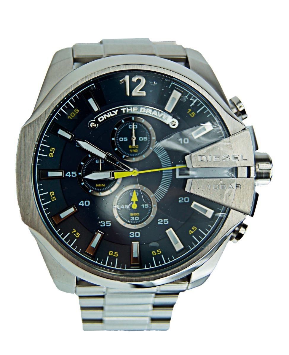 03d799d126f8 reloj diesel mega chief chronograph acero dz4465. Cargando zoom.