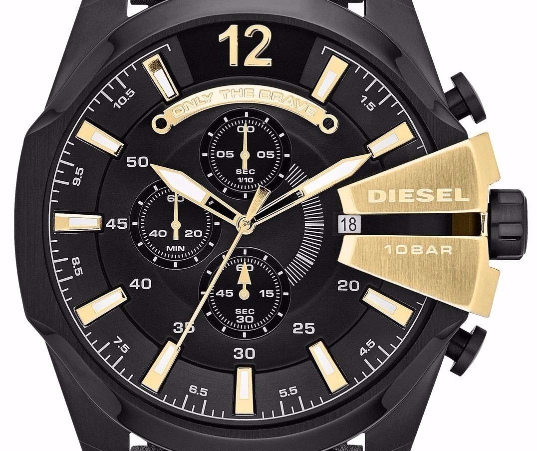 478521323ef7 reloj diesel mega chief cronógrafo original. Cargando zoom.