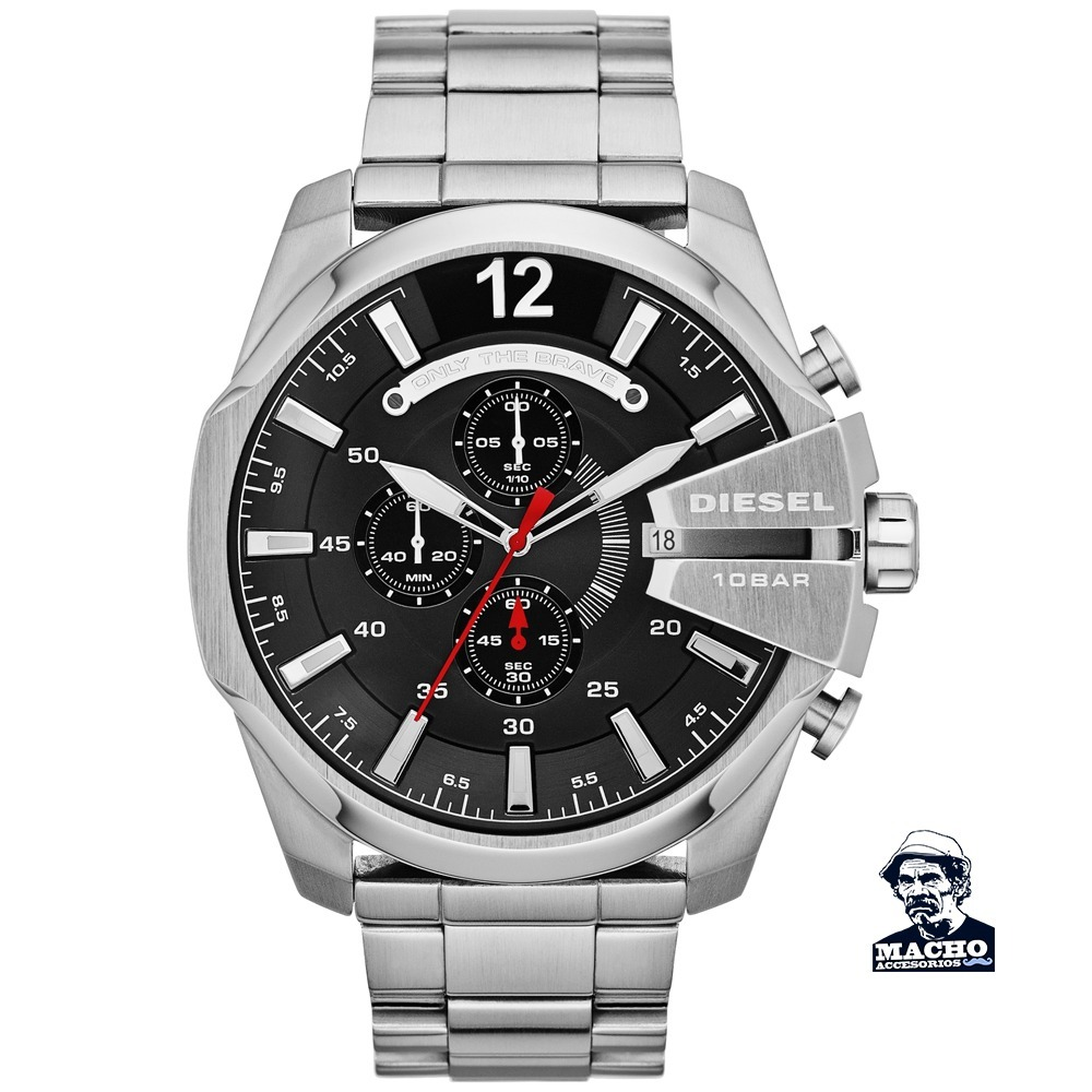 8ce677b05b6e reloj diesel mega chief dz4308 en stock original nuevo. Cargando zoom.