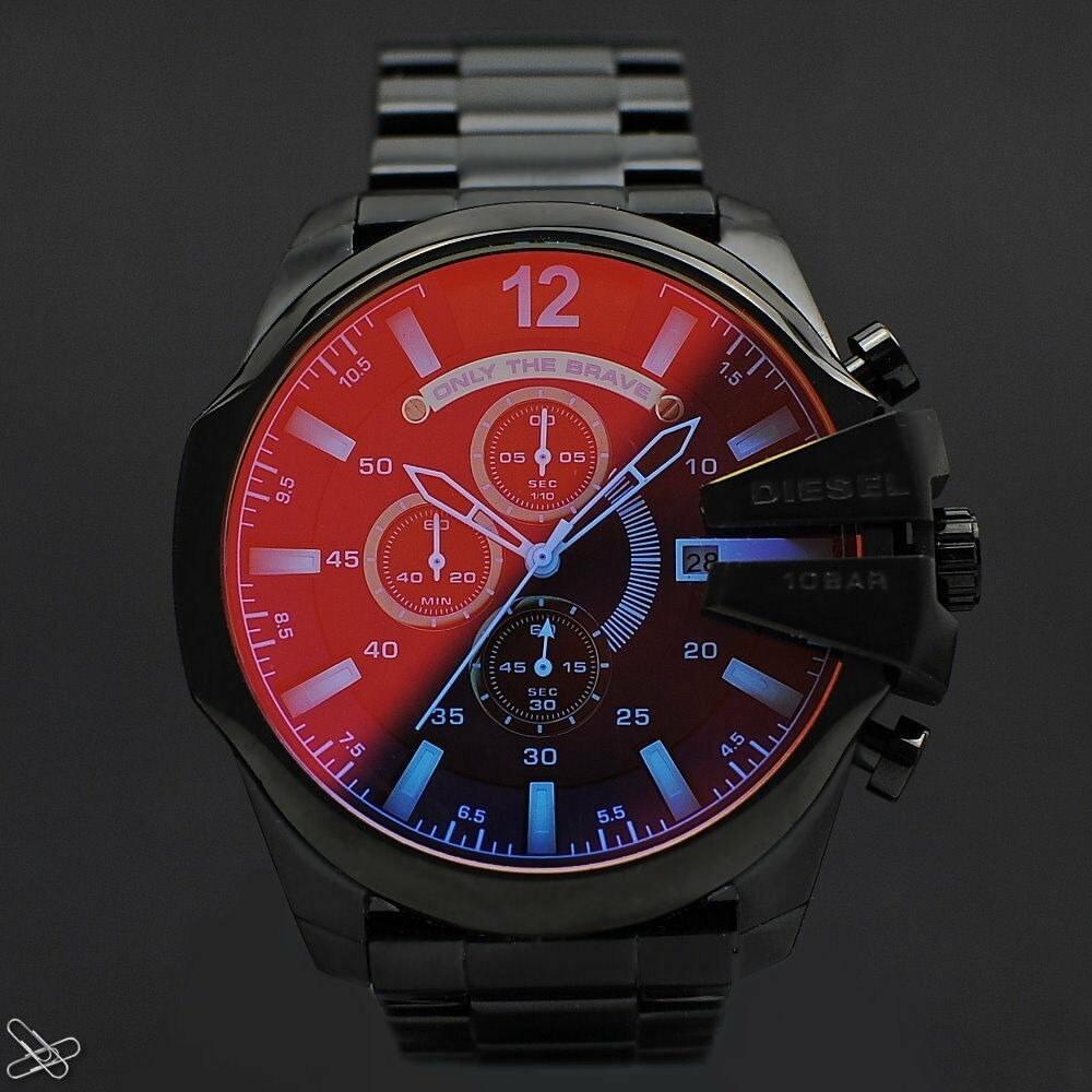 d9fc945ae47f reloj diesel mega chief dz4318 disponible. Cargando zoom.