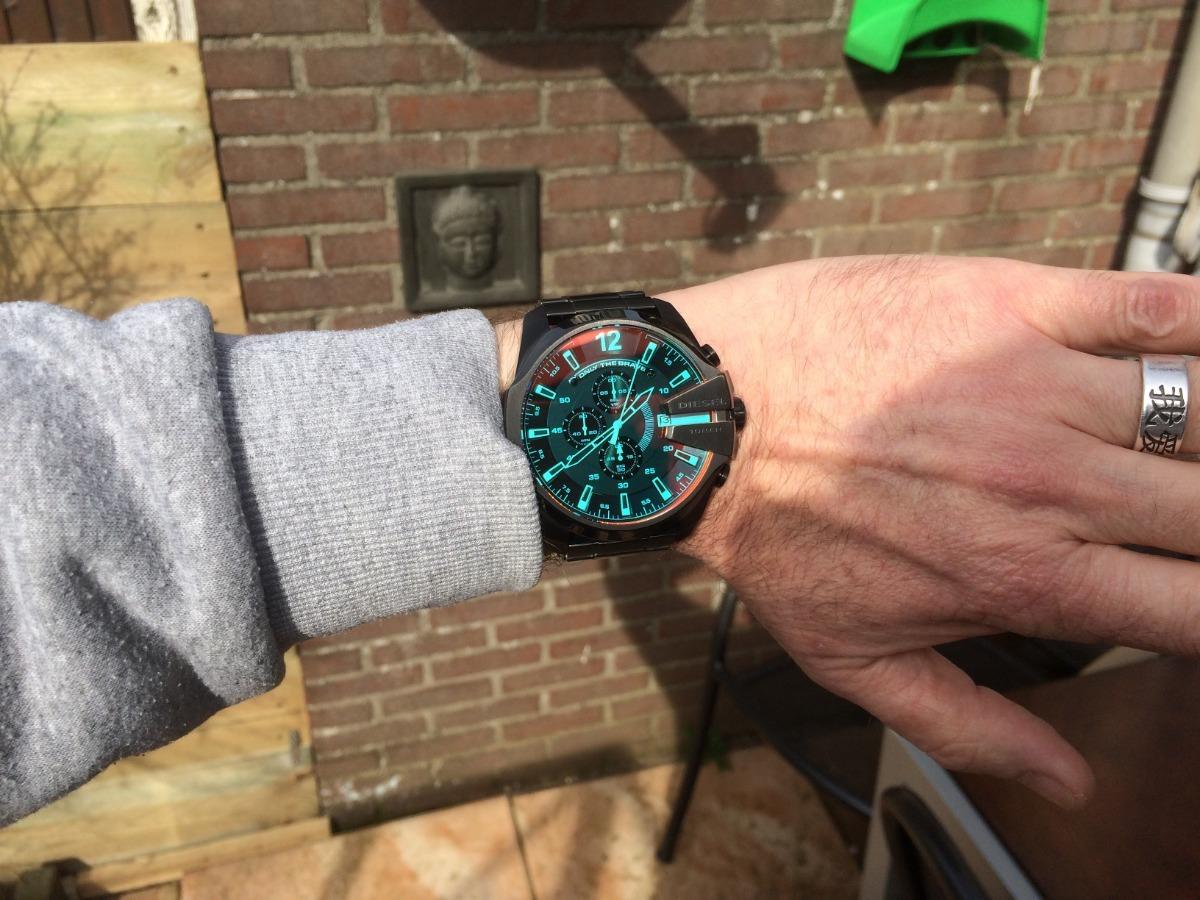 c1bcd37c0f8f reloj diesel mega chief dz4318 tendencia cronografo garantia. Cargando zoom.