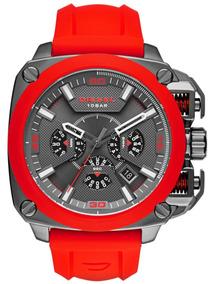 faba7500e58d Reloj Diesel Dz5322 Silicona Negro - Relojes en Mercado Libre México