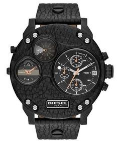 5c190eab86c1 Reloj Diesel Correa De Cuero - Relojes en Mercado Libre México