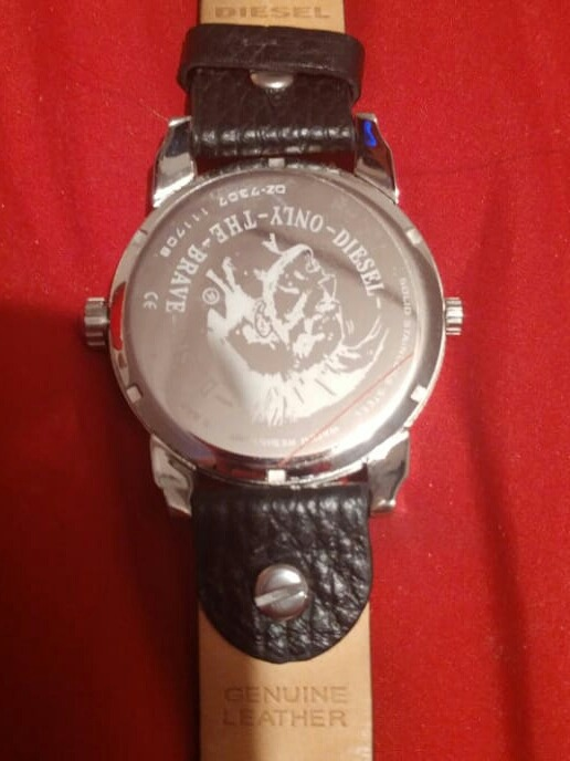 697144922874 Reloj Diesel Only The Brave 3 Bar (modelo  dz7307) -   120.000 en ...