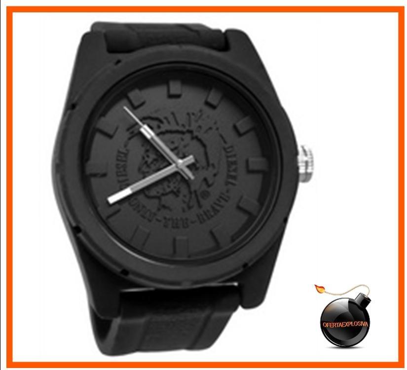 486ba4185249 reloj diesel negro