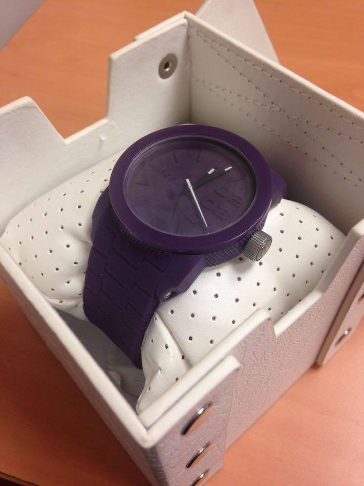 7883a071895f Reloj Diesel Para Dama (morado) -   999.00 en Mercado Libre