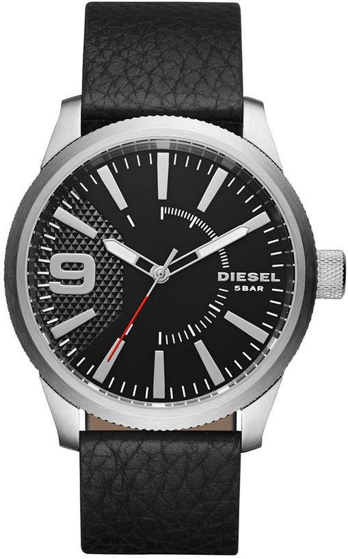 b9717b6eee3e reloj diesel para hombre dz1766 con correa de cuero negro. Cargando zoom.