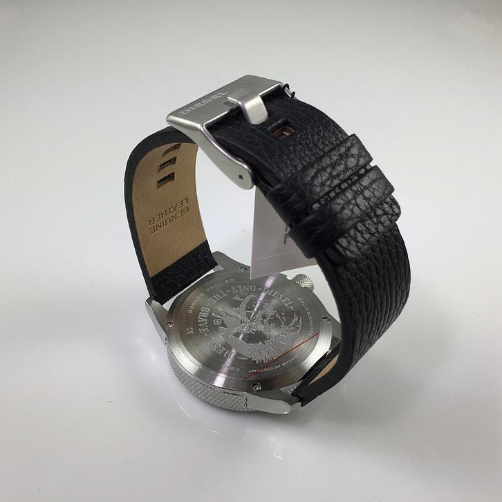 79f76be4086b Reloj Diesel Para Hombre Dz1766 Con Correa De Cuero Negro ...