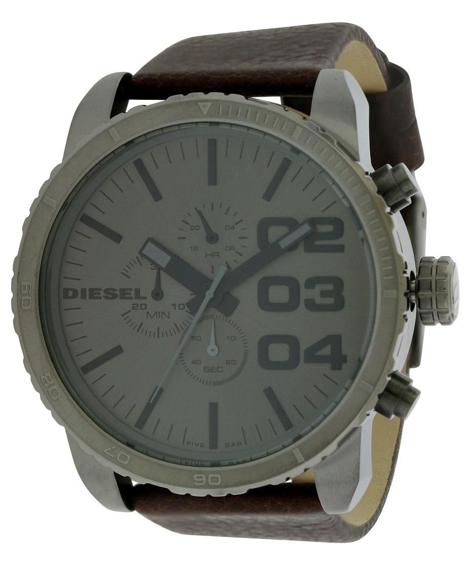 11bf60ec2401 reloj diesel para hombre dz4210 con correa de cuero café y. Cargando zoom.