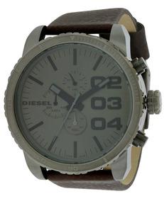 9a08efb4f06b Reloj Diesel Dz1273 Para Hombre Pulso De Cuero Cafe - Reloj de ...