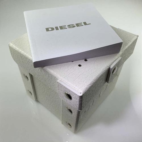 e2cb6fcbbfbd Reloj Diesel Para Hombre Dz4268 Double Down Dorado Con -   7