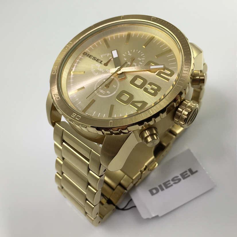 1c870660c50e reloj diesel para hombre dz4268 double down dorado con. Cargando zoom.