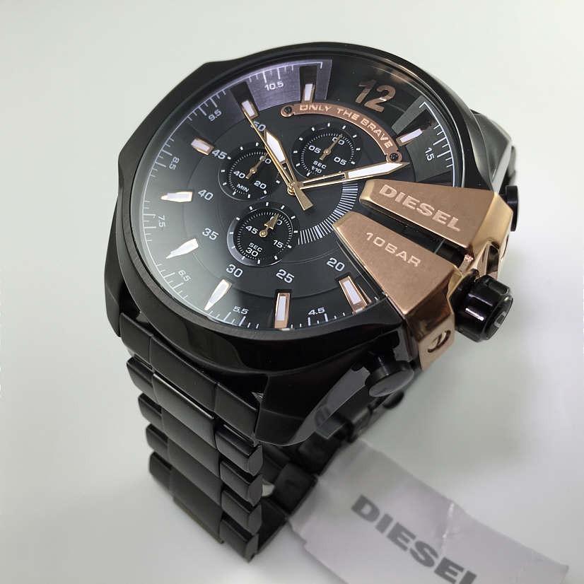 d75d29bd1ac5 reloj diesel para hombre dz4309 mega chief con cronógrafo. Cargando zoom.