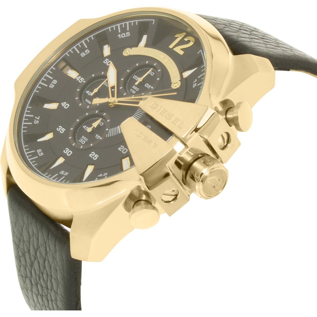 a1d4db90b80d reloj diesel para hombre dz4344 mega chief de cuarzo con. Cargando zoom.