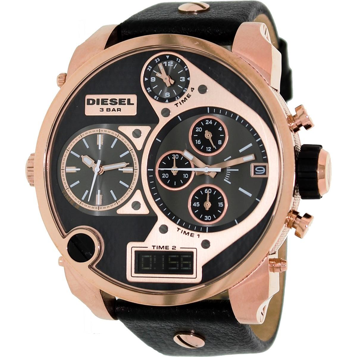 709b3bdfeed7 reloj diesel para hombre dz7261 my daddy con correa de. Cargando zoom.