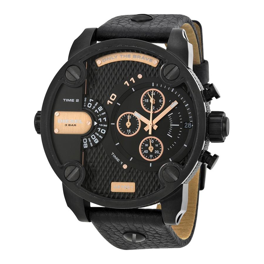 345fff70e23c reloj diesel para hombre dz7291 little daddy tablero negro. Cargando zoom.