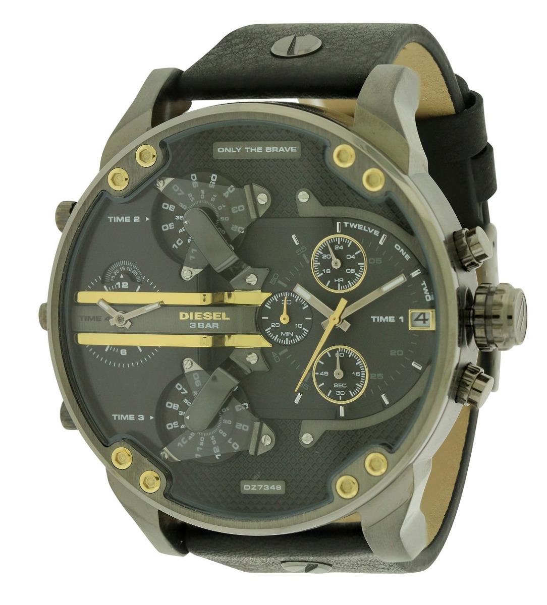 dab680a0fcbf reloj diesel para hombre dz7348 correa de cuero mr daddy. Cargando zoom.