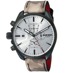 7c23e2cb051b Reloj Diesel Dz Correa Cuero - Relojes Pulsera Masculinos en Mercado ...