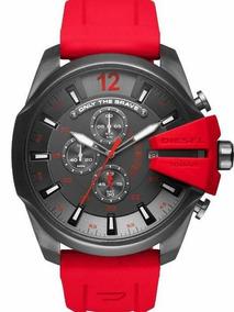 724b5672f413 Reloj Diesel Color Rojo - Joyas y Relojes en Mercado Libre México