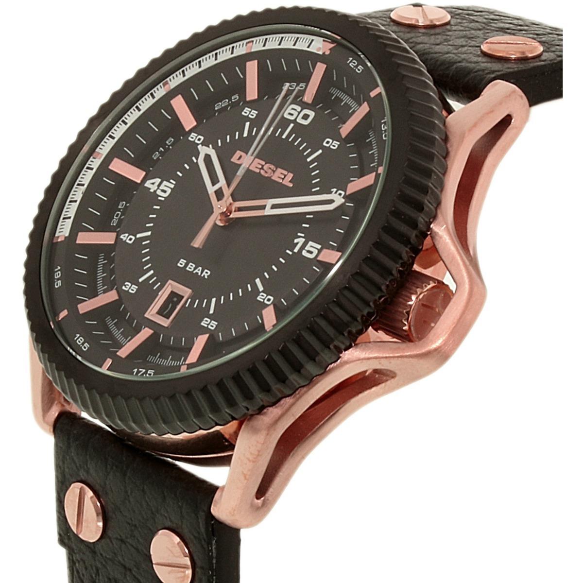 c2218a169783 Reloj Diesel Rollcage Rosa Dorado Dz1754 Para Caballero -   535.900 ...