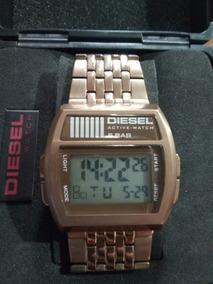 1b26b15323e8 Reloj Diesel Oled Watch Dz7080 Acero Pavonado - Relojes Pulsera en Mercado  Libre Argentina