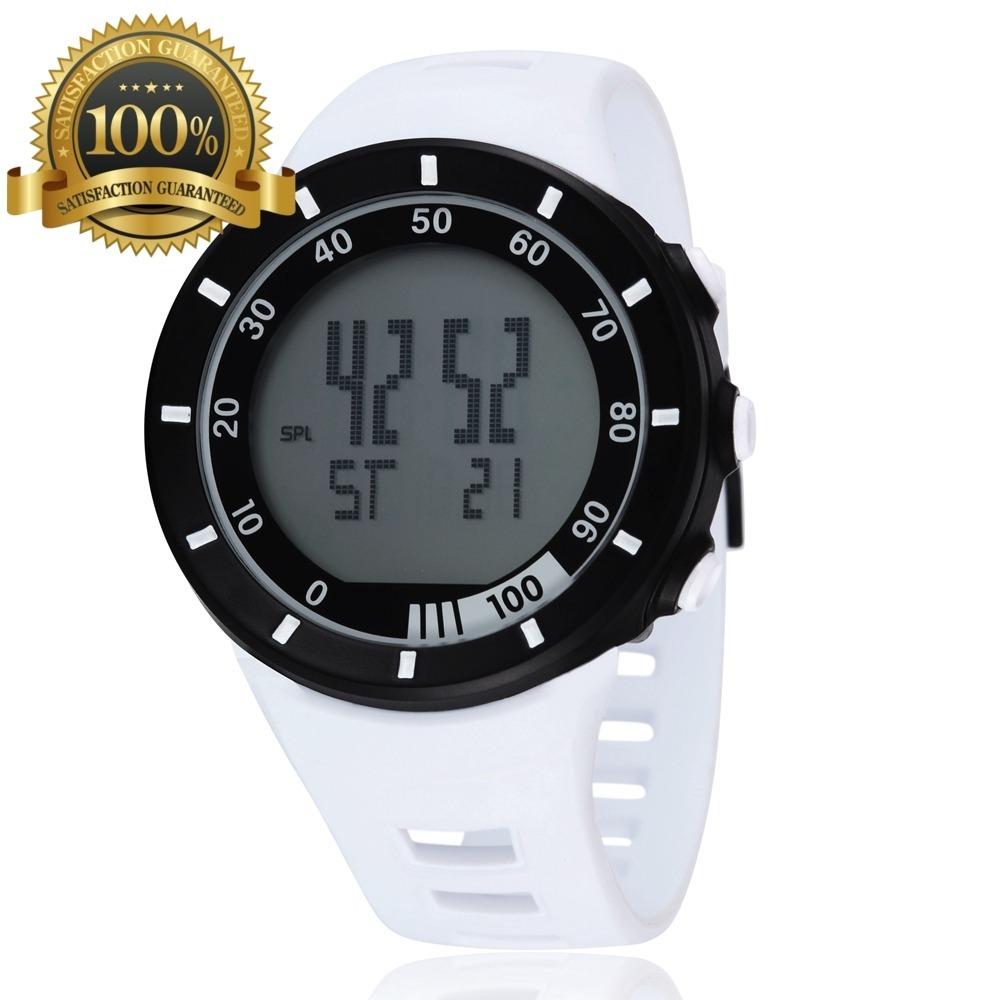 Reloj Deportivo Waterproof Ohnen Blanco Digital Moda Ybgf76y