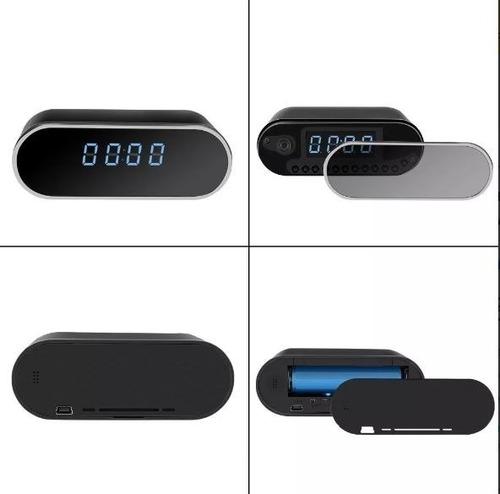 reloj digital camara espia  hd 1080p con vision nocturna
