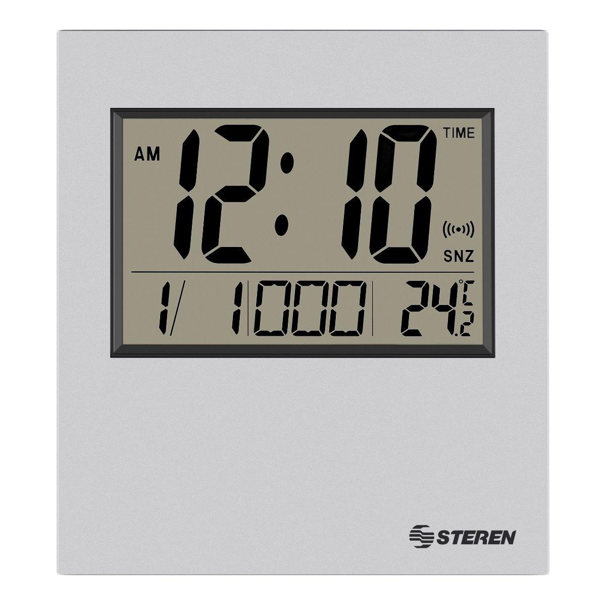 Reloj Digital Con Alarma Y Termómetro  3e636957784c