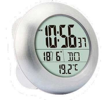 reloj digital con termometro calendario luft excelente calidad gran display pared mesa temperatura fecha hora pmcventas