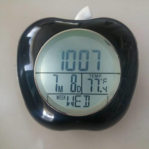 reloj digital con voz , despertador y  temperatura climatica