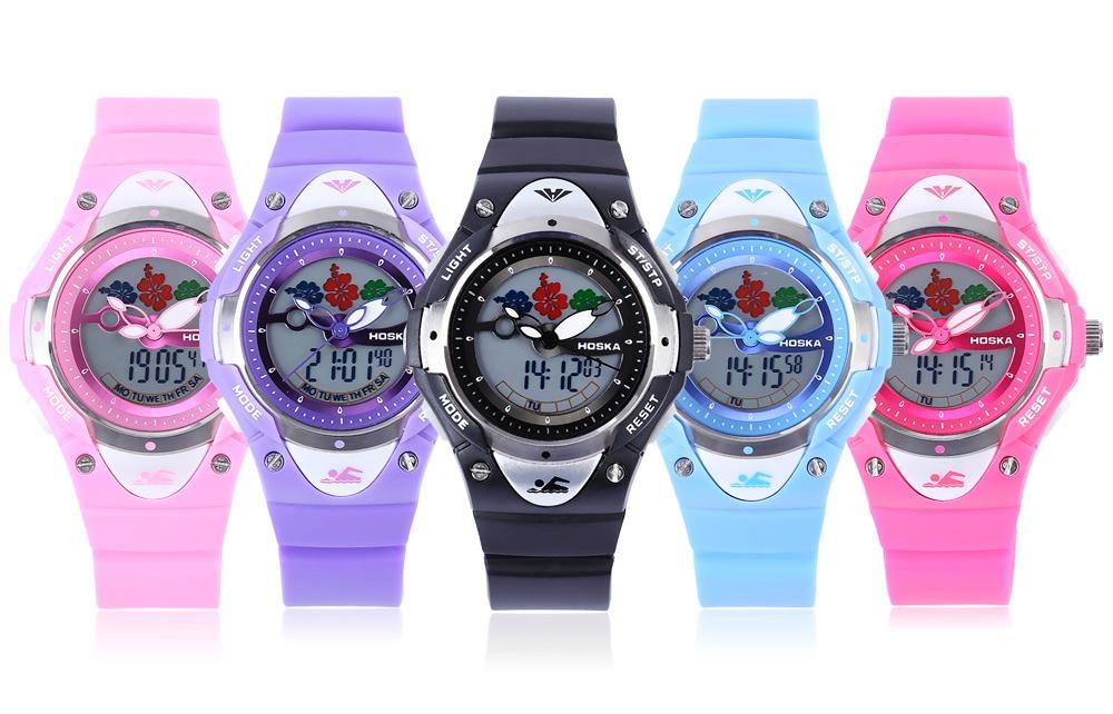 80f92e7c2f81 reloj digital de cuarzo movimiento dual 5atm para niños. Cargando zoom.