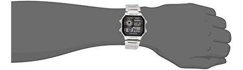 reloj digital de los hombres casio