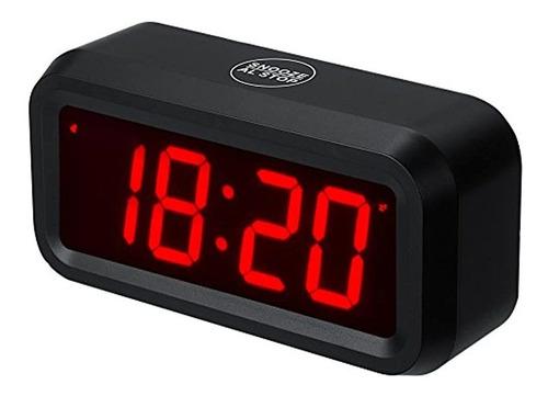reloj digital de pared  estante  escritorio pequeño s...