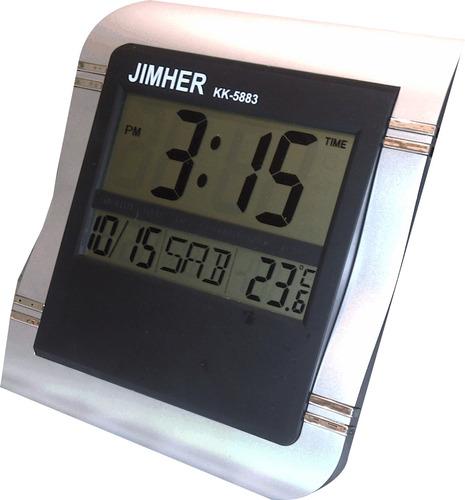 Reloj digital de pared o escritorio en mercado for Reloj digital de mesa