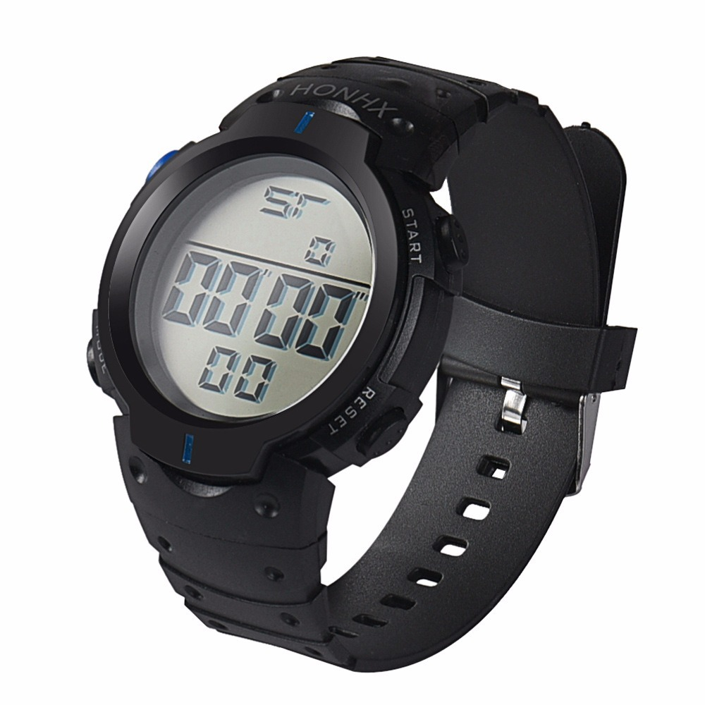 0a54b16eca28 reloj digital deportivo marca honhx alarma luz fecha crono. Cargando zoom.