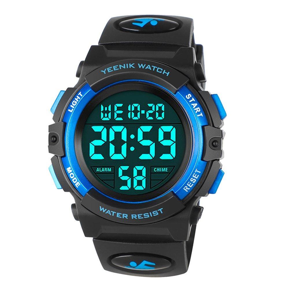 8c952e567757 reloj digital deportivo para hombre reloj militar led imp. Cargando zoom.