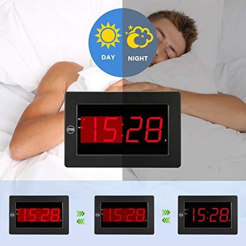 16ad0b95d5a2 Reloj Digital Despertador Digital Led Reloj De Pared Funcion ...