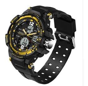 98c88db69933 Reloj Digital Hombre Militar Deportivo Análogo Sanda 289