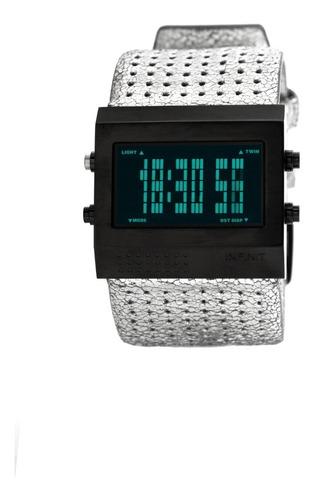 reloj digital infinit roby - bm.plateado