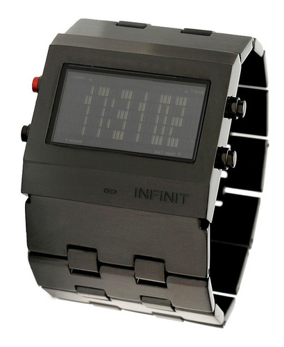reloj digital infinit time roby - blk