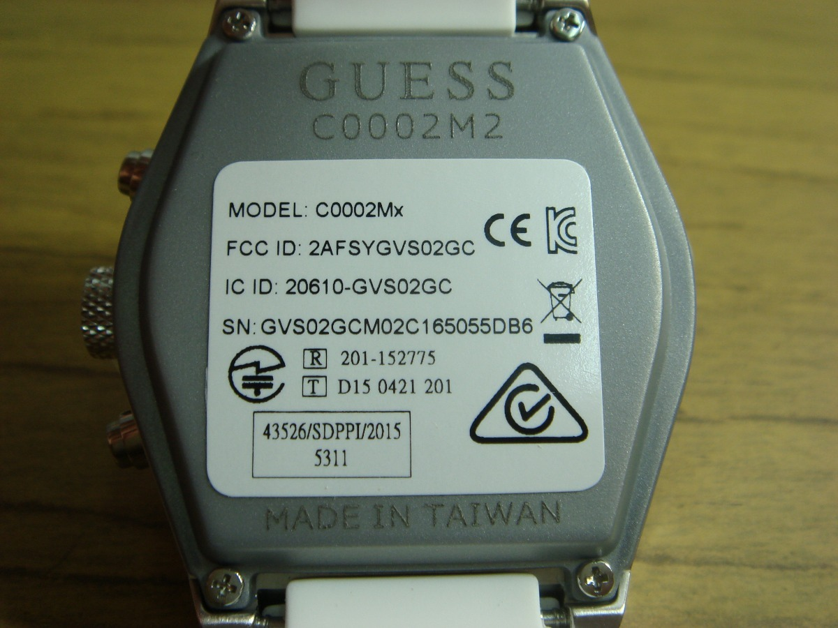 8bff9d5ba reloj digital inteligente guess connect c0002m2 unisex.c/nvo. Cargando zoom.