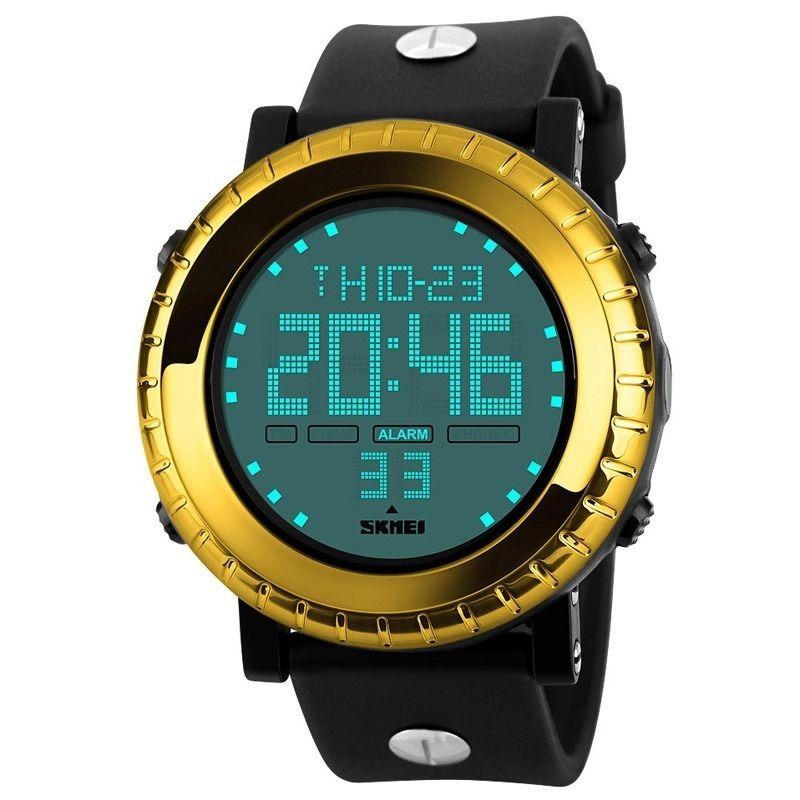 0099eb98adc7 Reloj Digital Led Para Hombre Skmei (dorado) -   31.990 en Mercado Libre