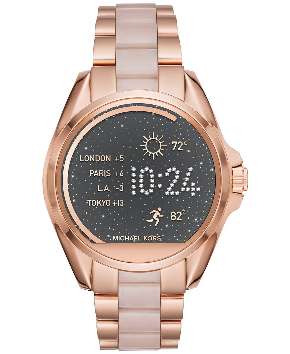 00dd0beb606c reloj digital michael kors original mujer oro rosa 44mm   j. Cargando zoom.