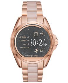 mejor servicio 5acb6 2aa55 Reloj Digital Michael Kors Original Mujer Oro Rosa 44mm / J