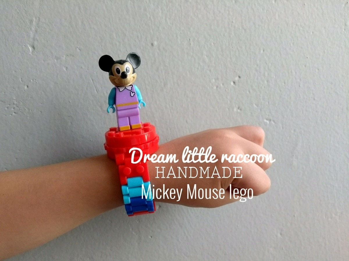 gran venta 8284d d906a Reloj Digital Mickey Mouse Compatible Lego