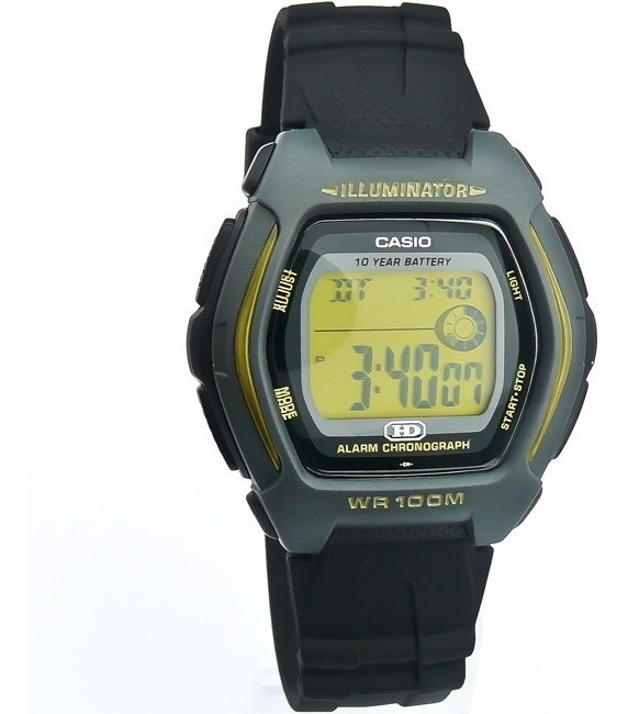 Casio Digital Hdd 600g Para Reloj Hombre 9a Illuminator De lKTF13ucJ