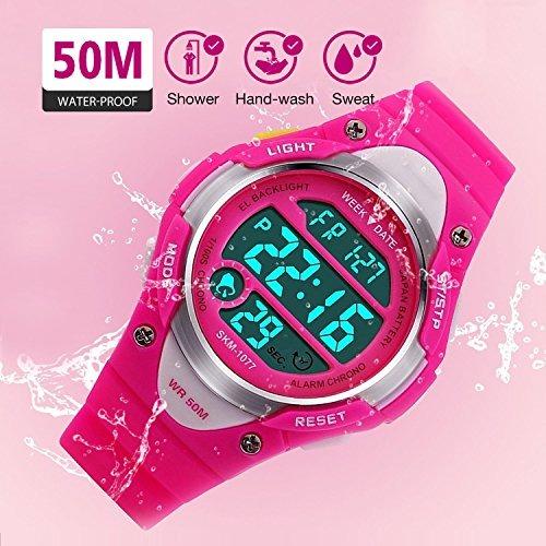 78b1ee2015d9 Reloj Digital Para Ninas - Deportes Infantiles Relojes Imper ...