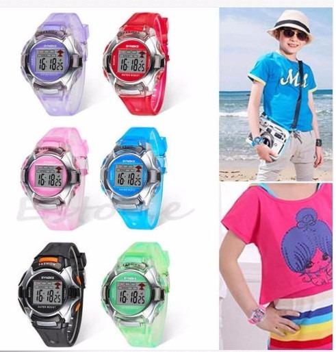 Reloj Digital Para Niños (colores Azul) + Estuche - S/ 29,00 en ...