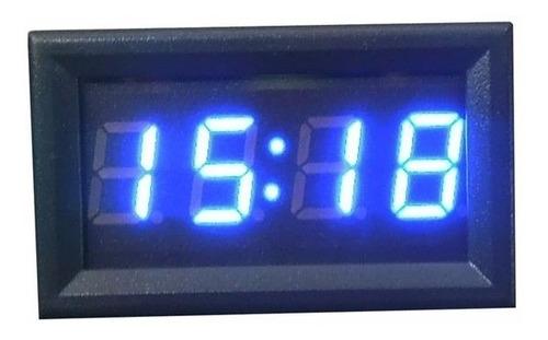 reloj digital para vehiculos 12 y 24 voltios